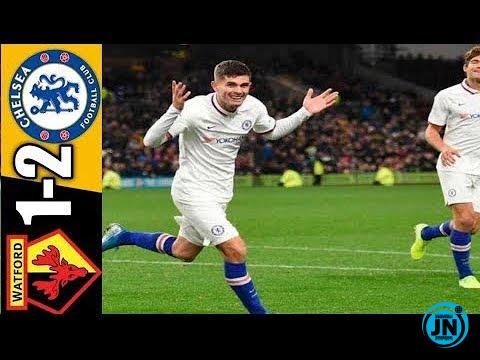 Watford vs Chelsea 1-2 – All Highlights & Goals